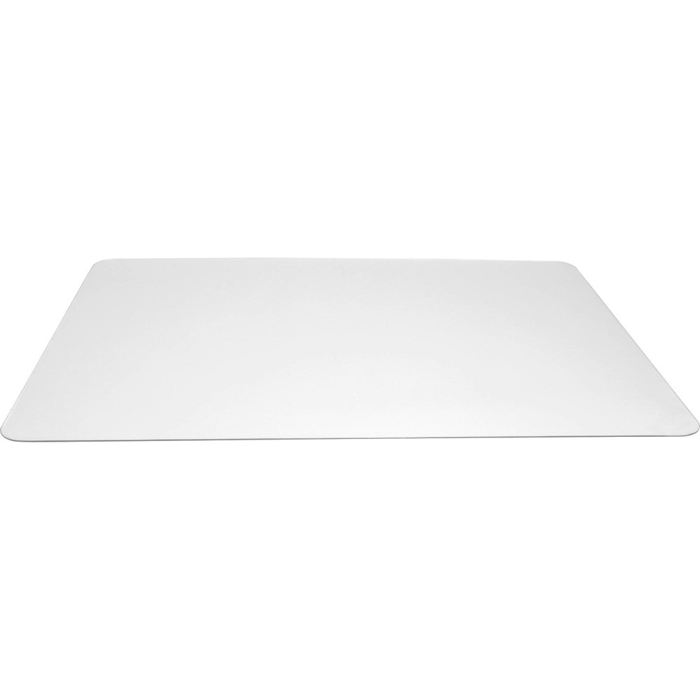 Image of Lorell Rectangular Crystal-Clear Desk Pads