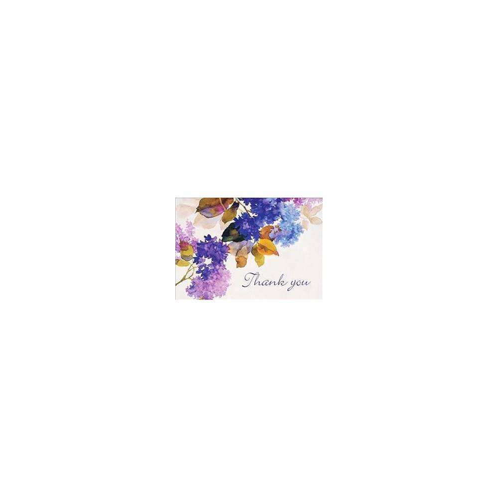 Lilacs Thank You Notes - (Stationery)