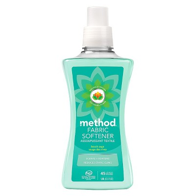 Method Beach Sage Liquid Fabric Softener - 53.5 Fl Oz