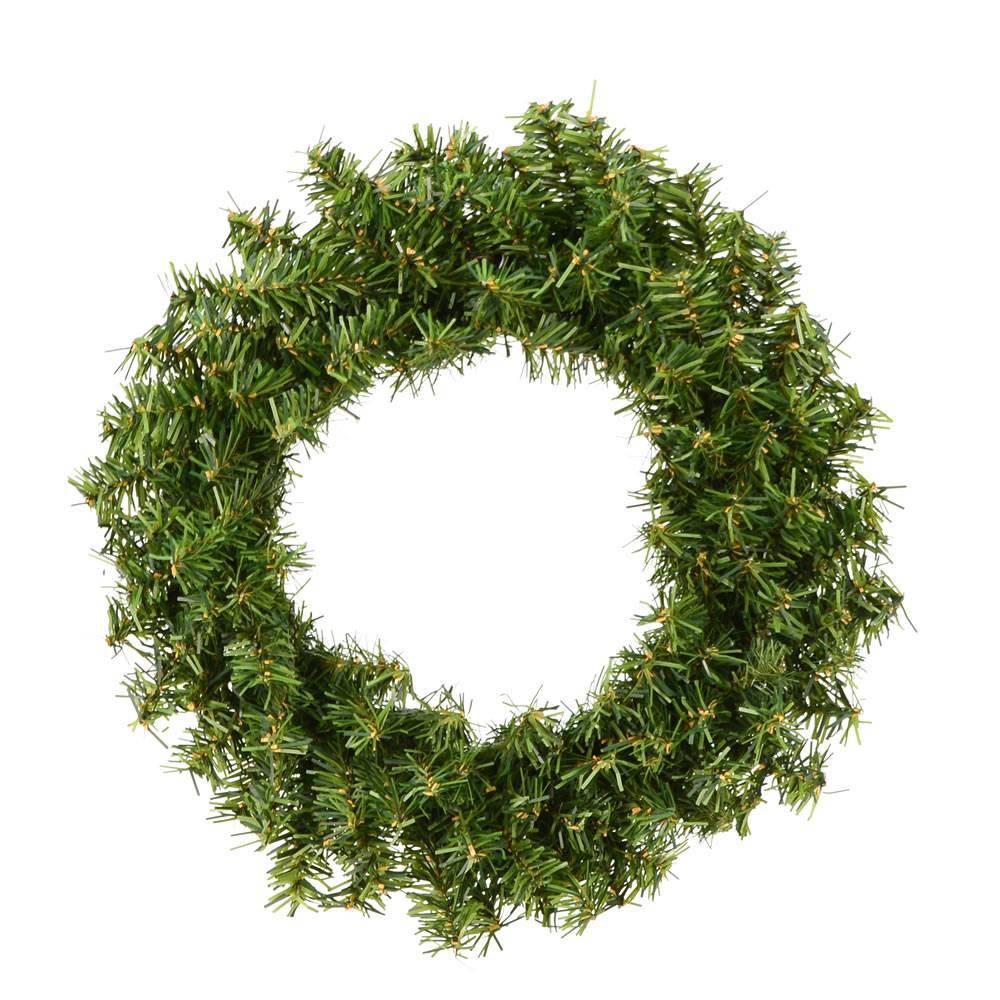 "Image of ""Vickerman 12"""" Mini Pine Wreath with 140 Tips"""
