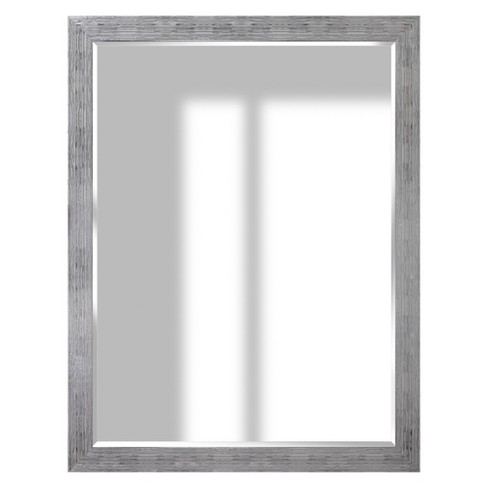36x48 Textured Wall Or Leaner Mirror Gray Gallery Solutions Target