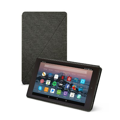 Amazon Fire HD 8 Tablet Case (7th Generation, 2017 Release)- Charcoal Black