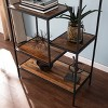 "58.75"" Thropel Reclaimed Wood Etagere Natural/Gray - Aiden Lane - image 2 of 4"