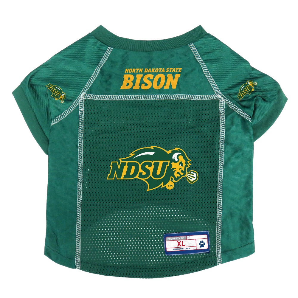 North Dakota State Bison Little Earth Pet Football Jersey - XL, Multicolored