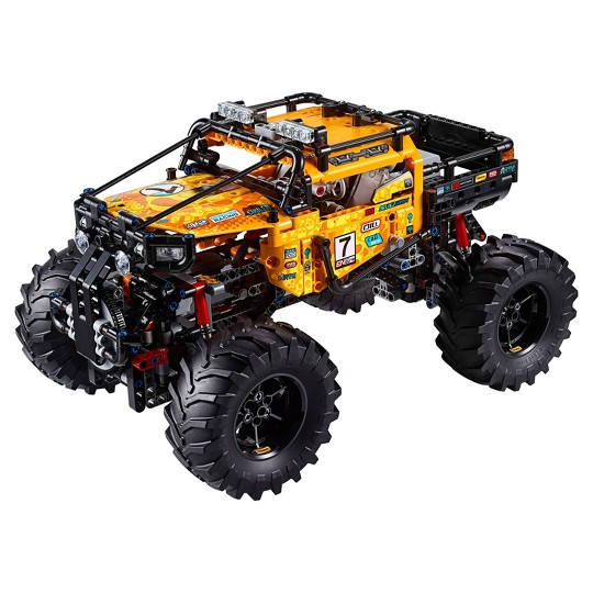 LEGO Technic 4X4 X-treme Off-Roader 42099 Toy Truck Building Set STEM Toy with App 958pc image number null
