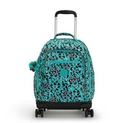 """Kipling New Zea Printed 15"""" Laptop Rolling Backpack"""