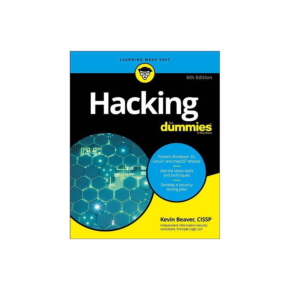 Hacking For Dummies 6th Edition By Kevin Beaver Paperback