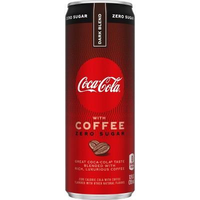 Coca-Cola with Coffee Dark Blend Zero Sugar - 12 fl oz Can