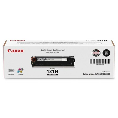 Canon Toner Cartridge HY 2400 Page Yield Black CRTDG131HYBK