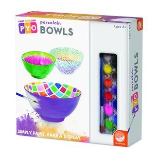 MindWare Paint Your Own Porcelain Bowls