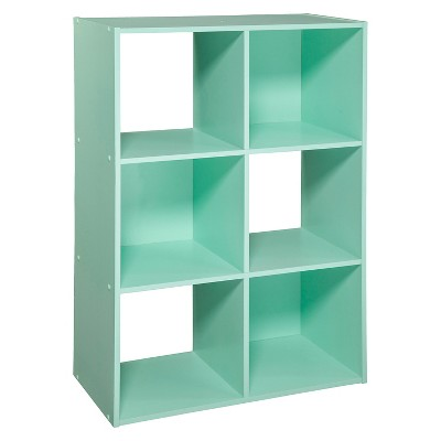 "11"" 6 Cube Organizer Shelf Mint - Room Essentials™"