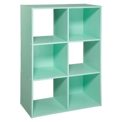 6-Cube Organizer Shelf Mint 11  - Room Essentials™