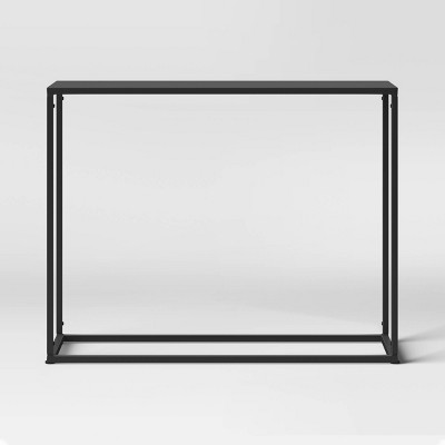 Glasgow Narrow Console Table Black - Project 62™