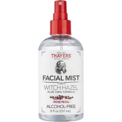 Thayers Witch Hazel Alcohol Free Toner Facial Mist - Rose -  8 fl oz