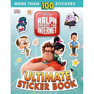 Ralph Breaks the Internet Ultimate Sticker Book -  by Julia March (Paperback)