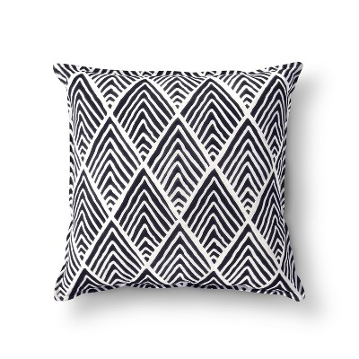 Navy Wave Throw Pillow - Threshold™