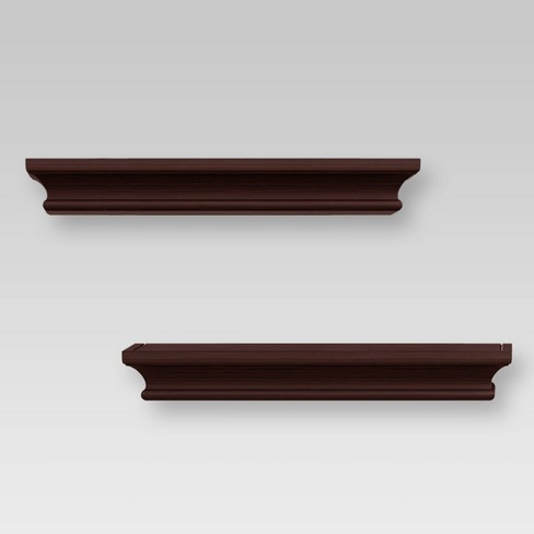 2pc Traditional Wall Shelf Set - Threshold™ - image 1 of 4