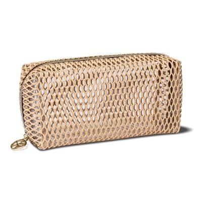 3c32dc6f018 Sonia Kashuk™ Open Weave Makeup Organizer Bag – Beige – BrickSeek