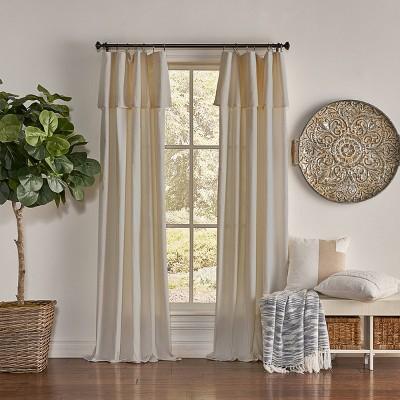 Drop Cloth Light Filtering Curtain Panel - Mercantile