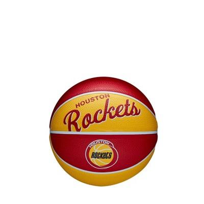 NBA Houston Rockets Retro Mini Basketball