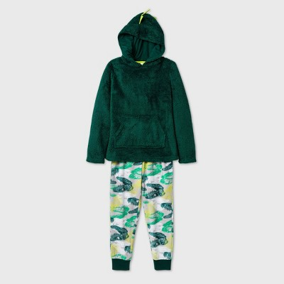Boys' Camo Dino Print Pajama Set - Cat & Jack™ Green