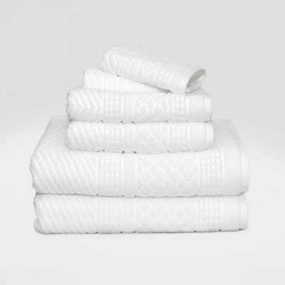 6pc Apothecary Bath Towel Set - LOFT by Loftex