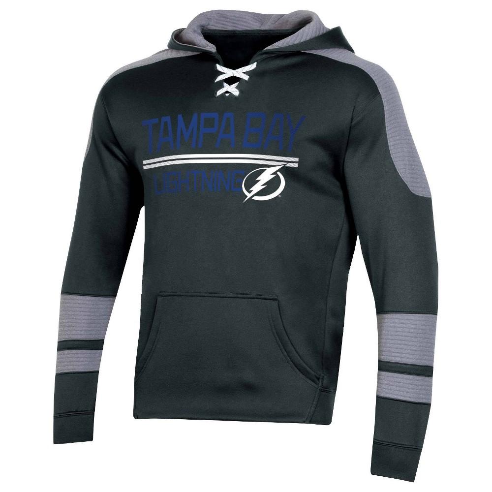 Nhl Tampa Bay Lightning Men 39 S Edge Poly Textured Hoodie M