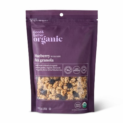 Blueberry Flax Granola - 12oz - Good & Gather™