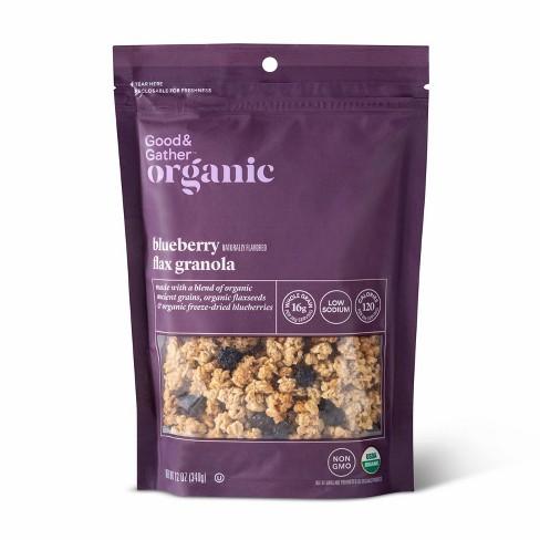 Blueberry Flax Granola - 12oz - Good & Gather™ - image 1 of 2