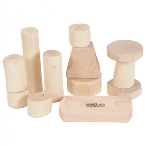 Bambino Wooden Shape Branch Blocks  - Set of 12 - image 1 of 1