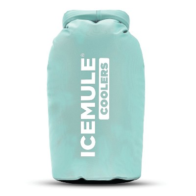 IceMule Classic Small Collapsible Portable Soft Side Roll Top 10 Liter 6 Can Lightweight Insulated Waterproof Leak Proof Backpack Cooler Sling Bag