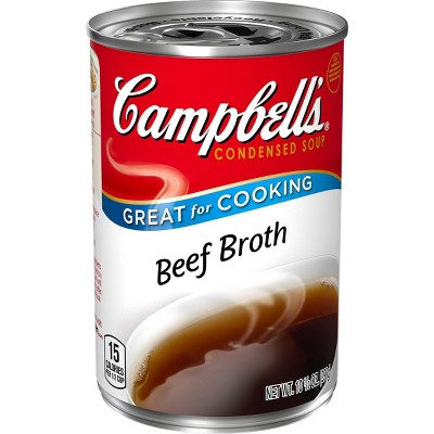 Campbell's Condensed Beef Broth Soup 10.5oz
