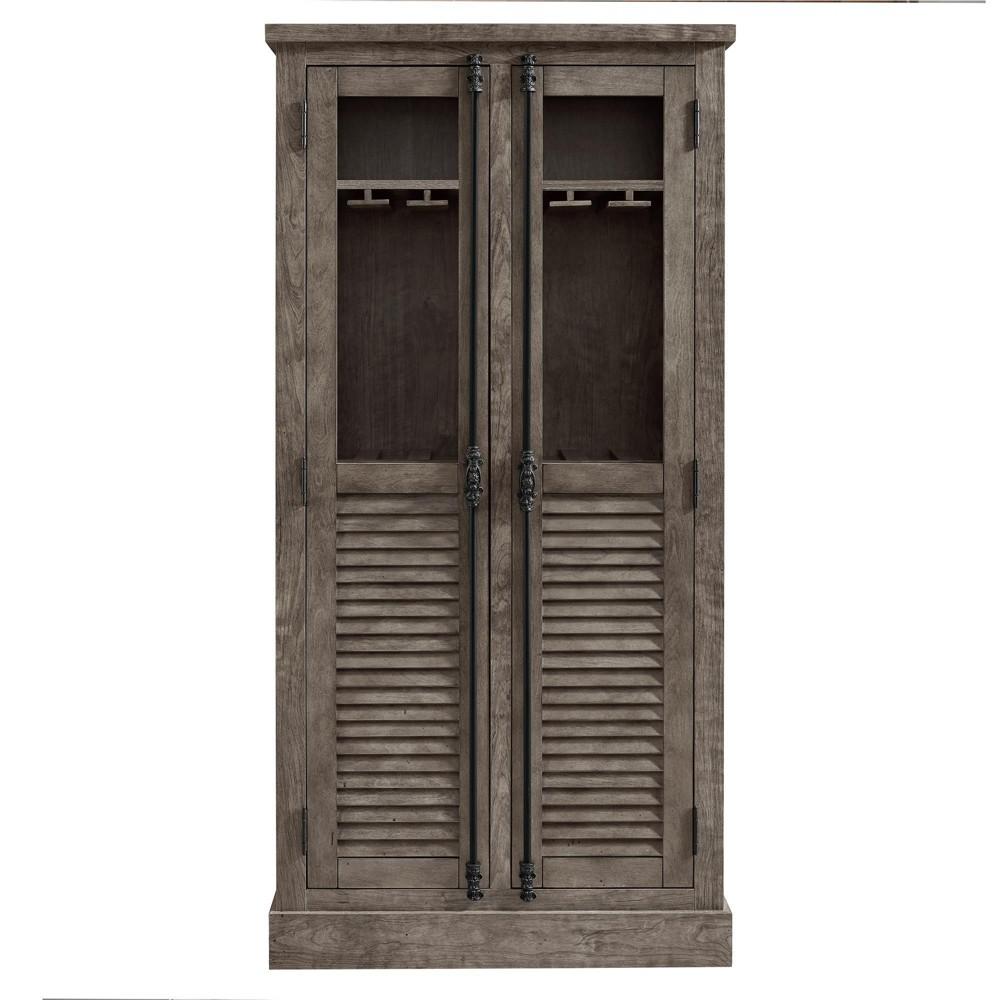 Cheshire Beverage Cabinet - Rustic Gray - Room & Joy
