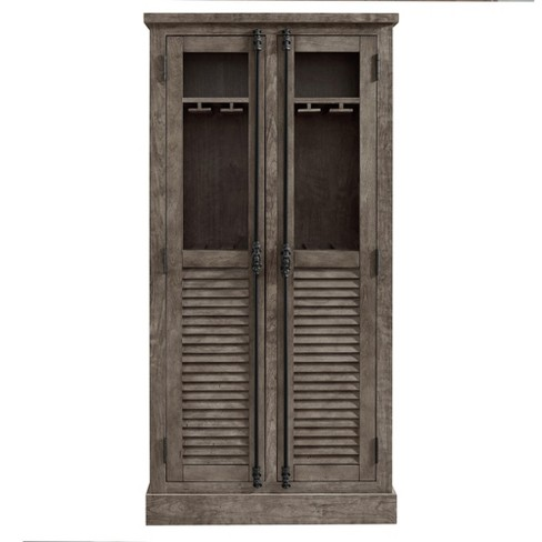Cheshire Beverage Cabinet - Rustic Gray - Room & Joy - image 1 of 8