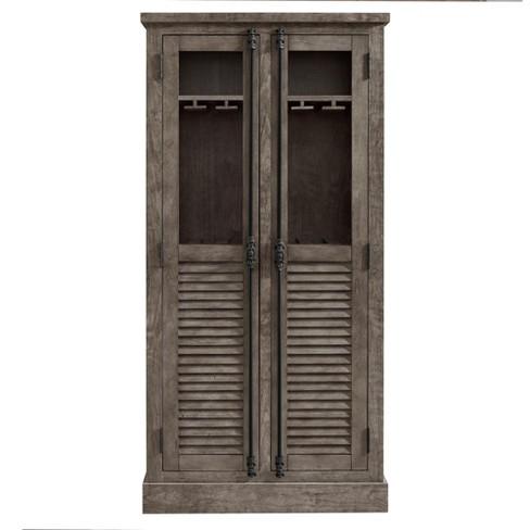 Cheshire Beverage Cabinet - Rustic Gray - Room & Joy - image 1 of 4