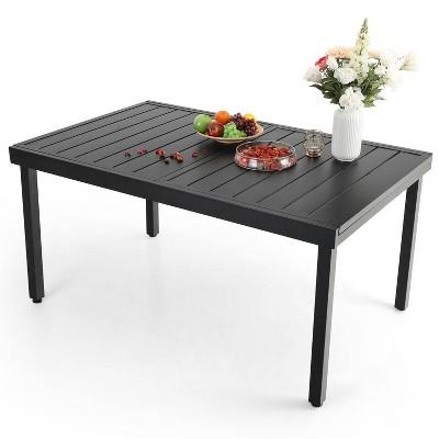 6-8 Person Expandable Rectangular Patio Table - Captiva Designs