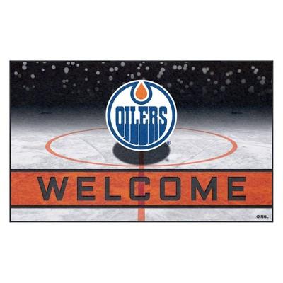 """NHL Edmonton Oilers Crumb Rubber Door Mat 18""""x30"""""""