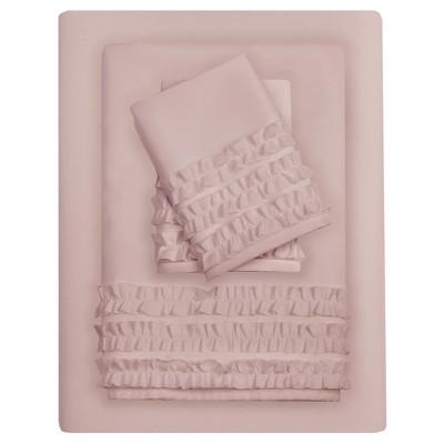6pc Sheet Sets Pink King
