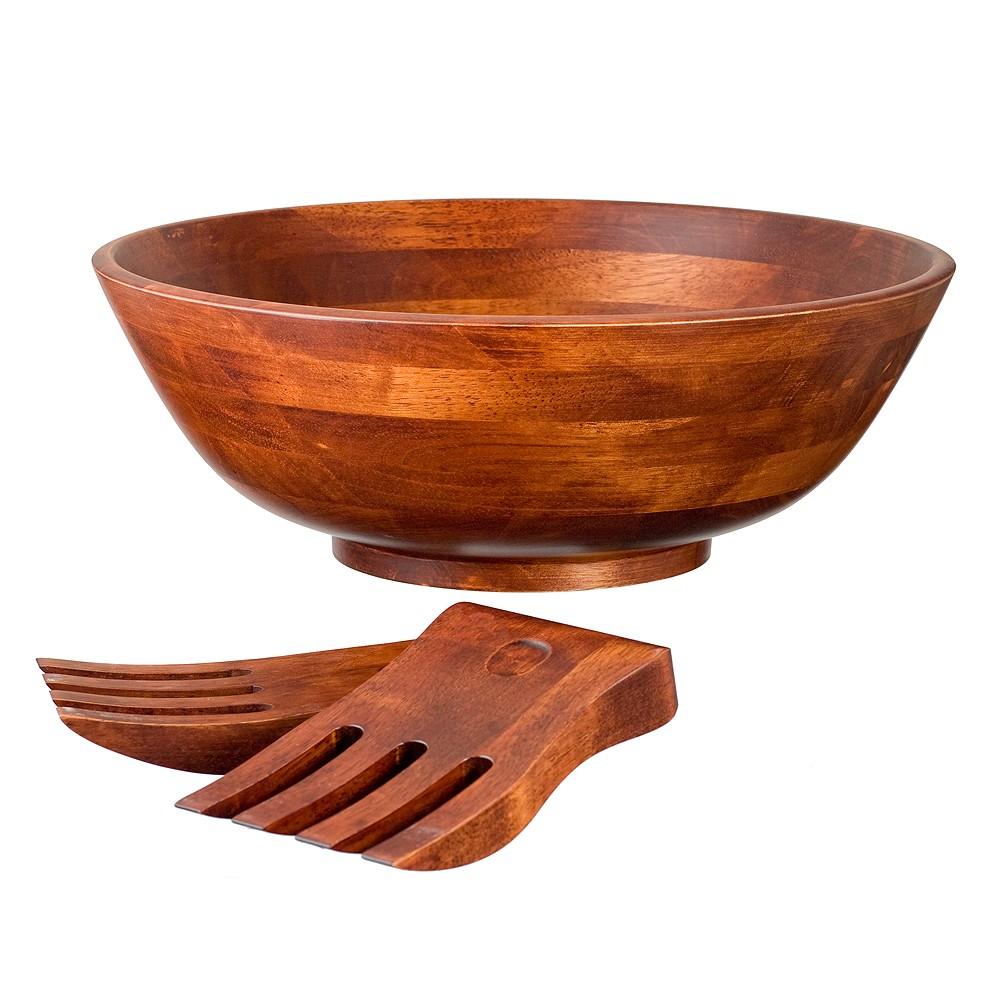 Image of Lipper International 3pc Salad Set - Cherry