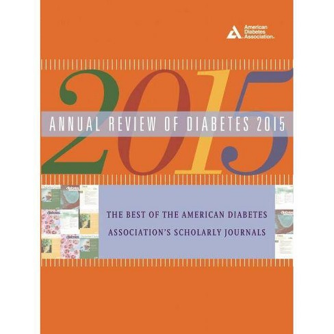Annual Review of Diabetes 2015 - (Paperback) - image 1 of 1