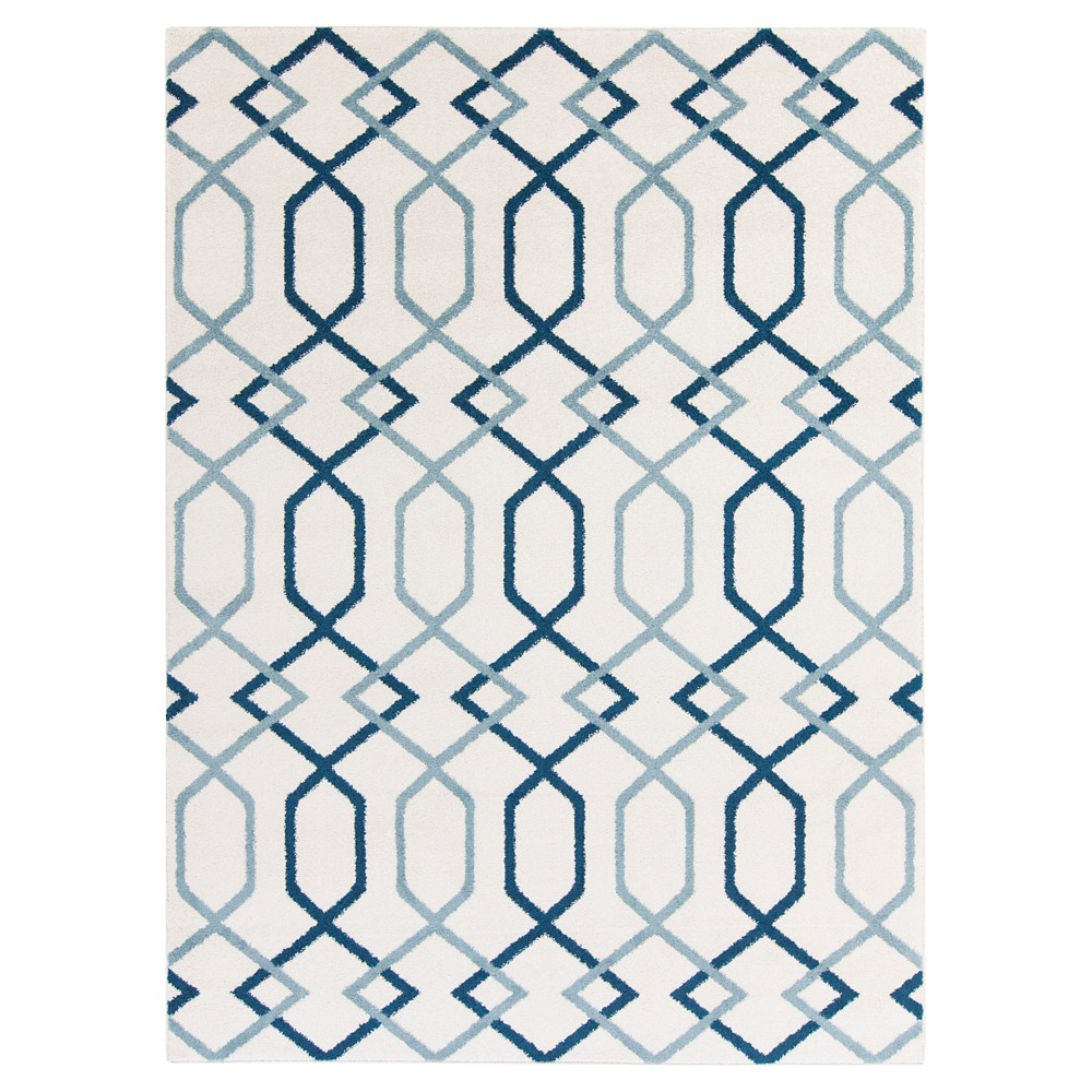 Cream (Ivory) Abstract Tufted Accent Rug - (3'3X5') - Surya