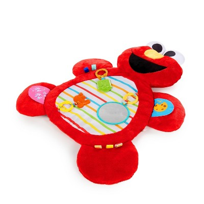 Bright Starts Sesame Street Tummy-Time Elmo Prop Mat