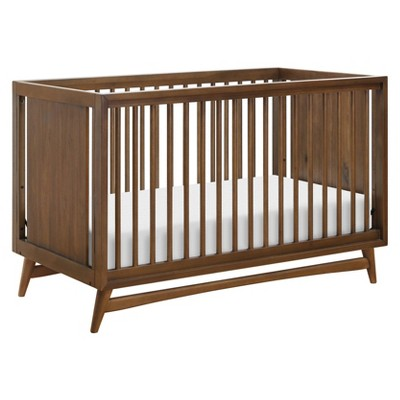 Babyletto Peggy Mid-Century 3-in-1 Convertible Crib - Walnut