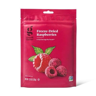 Freeze Dried Raspberries - 1.25oz - Good & Gather™