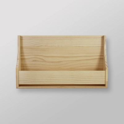 Wood Book Shelf Natural - Pillowfort™