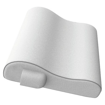 Pretika White Massaging Bath Pillow with Remote