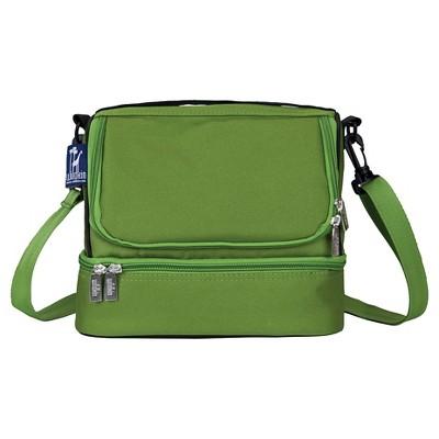 Wildkin Parrot Green Double Decker Lunch Bag