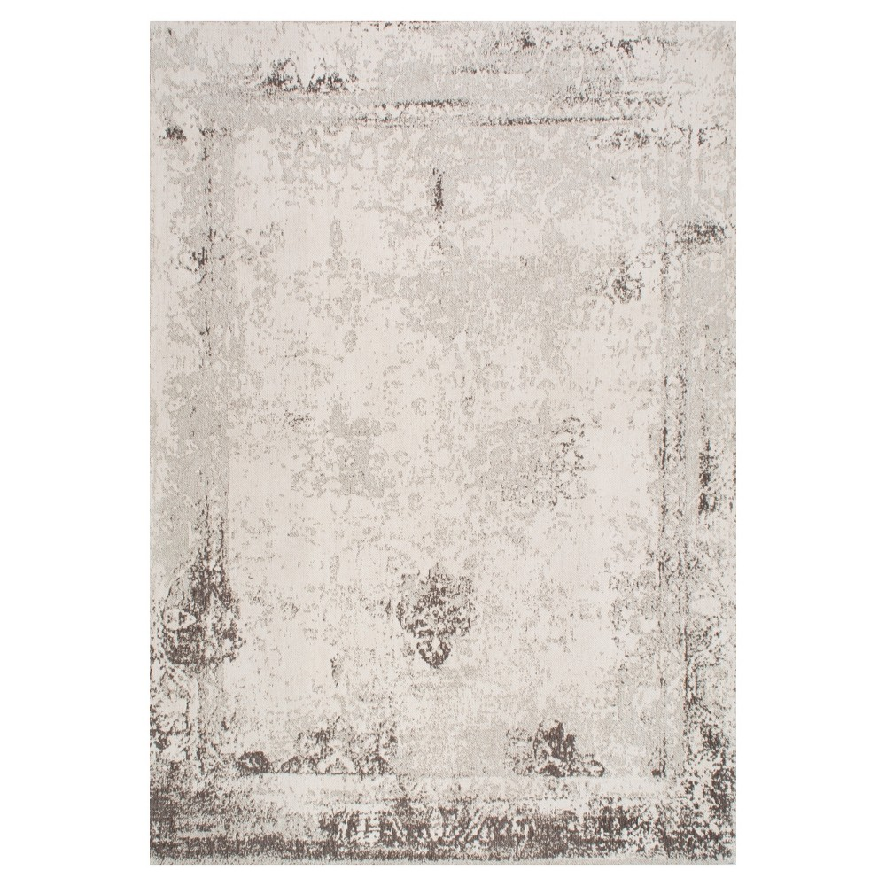 Sterling Gray Solid Loomed Area Rug - (5'x8') - nuLOOM, Grey