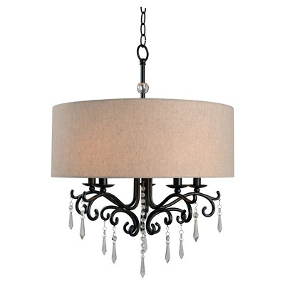 Kenroy Home Lucille 5 Light Chandelier Ceiling Light