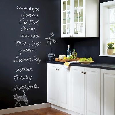 View Photos & Devine Color By Valspar 1 Quart Chalkboard Paint- Coal : Target